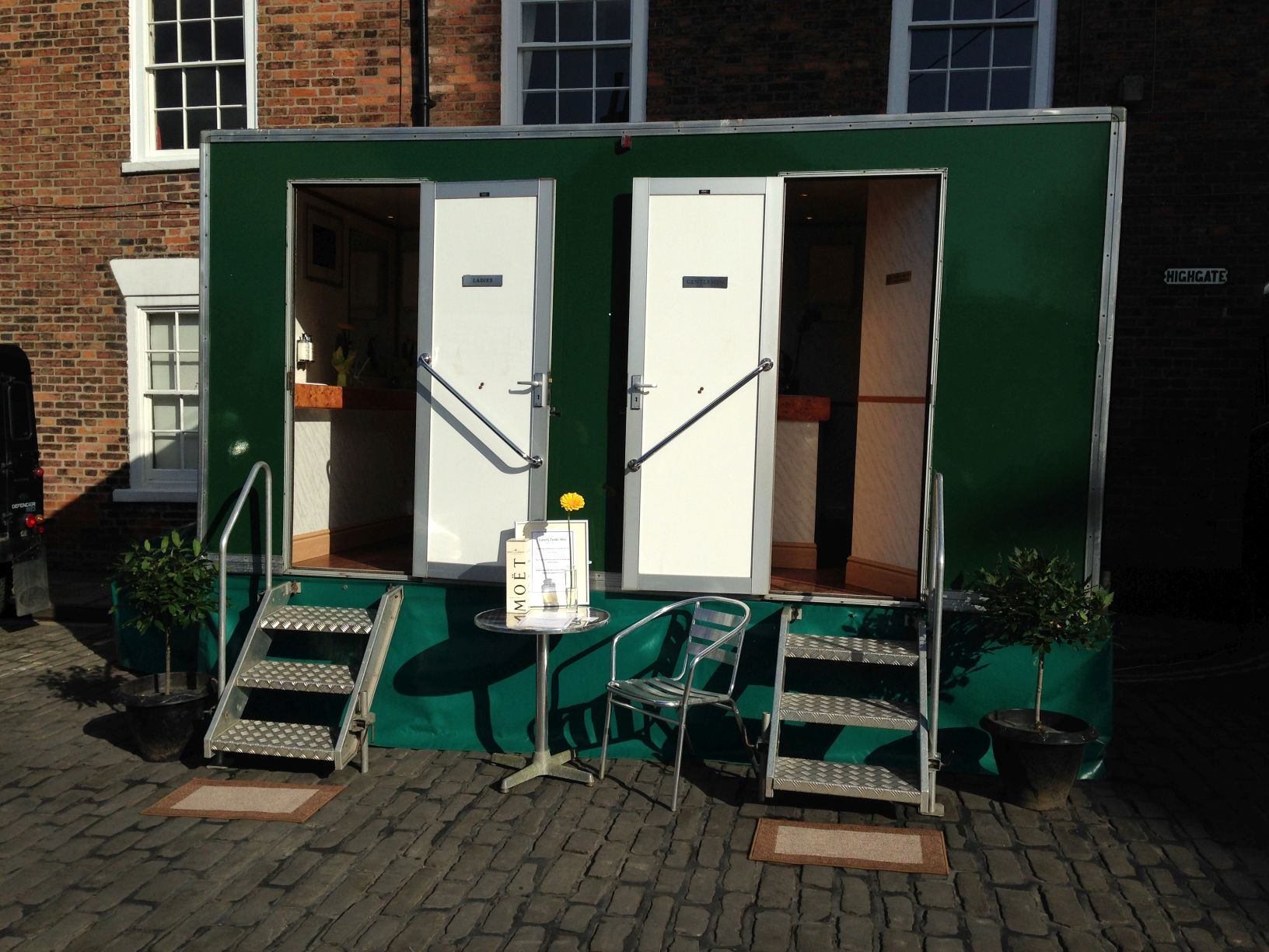 Portable Toilet Suppliers Luxury Toilet Hire In Yorkshire